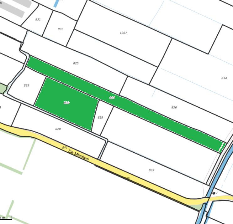percelen grasland aan de Sânsleat te Twijzelermieden 2.59.70ha